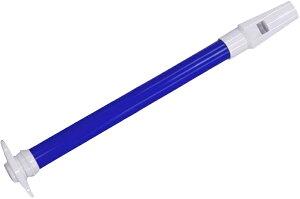 【メール便出荷品】 SW-02 スライドホイッスル ブルー スライド笛 プラスチック ホイッスル グリッサンド 楽器 気鳴楽器 パーカッション 打楽器 SW02 BLUE 青色 北海道/沖縄/離島/同梱不可