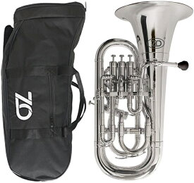 ZO ( ゼットオー ) 【予約】 ユーフォニアム EU-09 シルバー 新品 アウトレット 4ピストン プラスチック 管楽器 Silver Euphonium 北海道 沖縄 離島不可