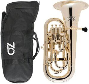ZO ( ゼットオー ) 【予約】 ユーフォニアム EU-08 シャンパンゴールド アウトレット 4ピストン プラスチック 管楽器 Gold Euphonium  北海道 沖縄 離島 不可
