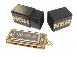 HOHNER ( ホーナー ) リトルレディ ベーシックモデル Little Lady 39/8 ブルースハープ ペンダントトップ 4穴 楽器 mini blues harmonica アクセサリー