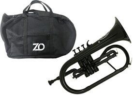 ZO ( ゼットオー ) FL-05 フリューゲルホルン ブラック 調整品 新品 アウトレット プラスチック 管楽器 本体 Flugel horn black 楽器 北海道 沖縄 離島不可