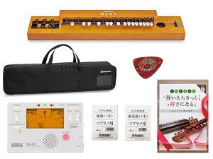 SUZUKI ( スズキ ) SUZUKI あすなろ TAS-12 チューナー 教本 セット 大正琴 TAS-12セット2 スズキ 和楽器 5絃 5弦 チューナー メトロノーム