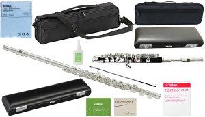 YAMAHA ( ヤマハ ) YFL-212 フルート 正規品 Eメカニズム 銀メッキ カバードキイ オフセット 管楽器 C管 flute セット B 北海道 沖縄 離島不可