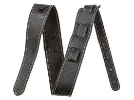 Fender ( フェンダー ) Monogram Leather Strap Black【モノグラム レザー・ストラップ 】