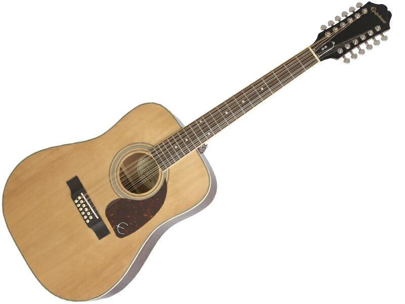 Epiphone ( エピフォン ) DR-212(NAT)【by ギブソン 12弦 アコースティックギター 】【ウィンターセール! 】 ドレッドノート タイプ