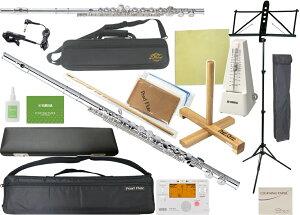 Pearl Flute ( パールフルート ) PFA-201ES アルトフルート リッププレート 銀製 ストレート 頭部管 Eメカニズム G管 alto flute PFA201ES セット E 北海道 沖縄 離島 代引き不可