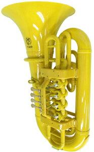 Tiger ( タイガー ) TU-06 チューバ イエロー アウトレット プラスチック製 B♭ 本体 管楽器 樹脂製 TUBA yellow 楽器  北海道不可 沖縄不可 離島不可