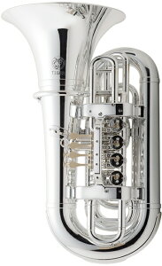 Tiger ( タイガー ) TU-09 チューバ シルバー アウトレット プラスチック製 B♭ 本体 管楽器 樹脂製 TUBA silver 楽器  北海道不可 沖縄不可 離島不可