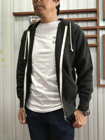 Filmelange フィルメランジェ【SALE】 RICKY リッキー ジップパーカー Sumikuro スミクロ 日本製 オーガニックコットン