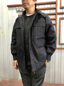 orSlow(オアスロウ)SAILMAN JACKET オリジナル撥水加工生地 セイルマンジャケット Black ブラック