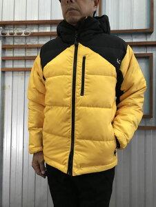 LASTCHANCE ラストチャンス 【SALE】EXTREME HOOD JACKET エクストリーム 中綿フーデッドジャケットBlack/Yellow ブラック×イエロー