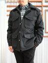 SKOOKUM スクーカム【SALE】 MAKINAW JACKETマッキンノージャケット メルトン中綿ジャケット Black ブラック 送料無料