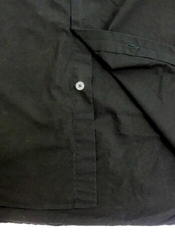 MANUALALPHABETMK-022ベーシック6オンスデニムボタンダウンシャツ