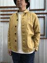 Arvor Maree アルボーマレー フランス TWILL STRECH JACKET ツイルストレッチジャケット Mustardマスタード 日本製