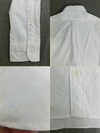 MK-003BASICシリーズオックス素材ボタンダウンシャツWHITEMADEINJAPAN
