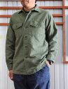 orslow ORSLOW オアスロウ メンズシャツ メンズシャツジャケット 03-8045-16 US ARMY SHIRTS アーミーシャツ シャツジャケット Gre…
