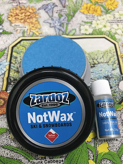 ZARDOZ NOTwax Pocket Puck ザードス・ノットワックスポケットパック スキーワックス スノーボードワックス