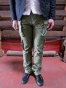 EP02-01細身でスタイリッシュに穿ける8ポケットカーゴパンツ