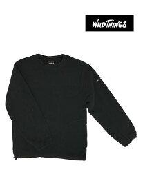 WILD THINGS(ワイルドシングス) POLARTEC ABLE CREW ポーラテックエイブルクルー Black ブラック