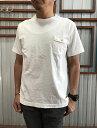 Jackman(ジャックマン)JM5550PocketTシャツポケットTWhiteSteelBlue