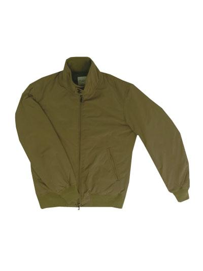 【SALE】M.I.D.A(ミダ)M183201 Down padding harrington jacket ダウンジャケット ハリントンジャケット ベージュカラー【送料無料】