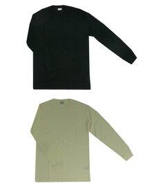 【SALE】gicipi(ジチピ) ウール&シルク素材 長袖カットソー オフホワイト ブラック イタリア製 【あす楽対応】
