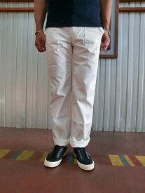 STUDIO ORIBE DELICIOUS(デリシャス)【SALE】DP2594 Barker Pants ベーカーパンツ テーパード White【送料無料】【あす楽対応】【コンビニ受取対応商品】