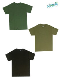 ALORE アローレ 3PIECES PACK TEE ミリタリーカラー 人気の3枚パックTシャツ ミリタリー仕様