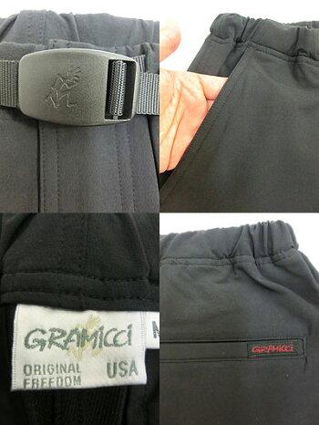 Gramicci(グラミチ)GMP-17F0094WAYSTSLIMPANTSストレッチスリムパンツBlack