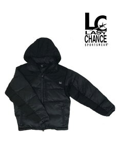 LAST CHANCE(ラストチャンス)【SALE】 EXTREME HOOD JACKET エクストリーム 中綿フーデッドジャケットBlack/Black ブラック×ブラック