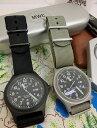 MWC ミリタリーウォッチカンパニー 国内正規品 保証書付き G10BH 12/24 ミリタリーウオッチ G10 クオーツ メンズ腕時計 グレー …