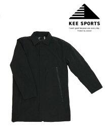 KEE SPORTS キースポーツ TAION(体温)コラボレーション 3WAY仕様 ナイロンステンカラーダウンコート インナーダウンジャケット【TAION】Black ブラック