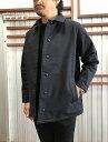 Jackman ジャックマン 【SALE】JM8975 Sweat Coach Jacket スウェットコーチジャケット Navy ネイビー日本製 送料無料