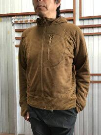 DEFCON5(デフコン チンクエ) FULL ZIP HOODIE フルジップフードジャケット ミッドレイヤー Coyote Tan コヨーテ イタリア製 送料無料