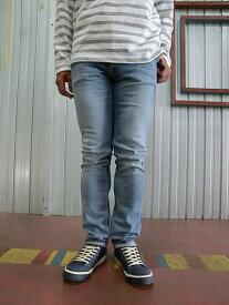 Nudie Jeans ヌーディージーンズ44161-1113 THIN FINN(シンフィン) CLEAR CONTRAST ウォッシュ加工されたTHIN FINN ストレッチ素材デニム スキニーデニム【送料無料】