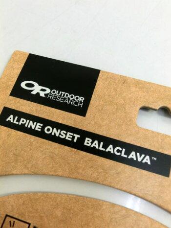 540a1c86c905 OUTDOORRESEARCH(アウトドアリサーチ)AlpineOnsetBalaclavaウールのバラクラバ