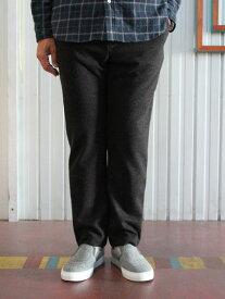 【SALE】MANUAL ALPHABET マニュアルアルファベット MA-P-095 ポンチEAZY イージーパンツ Charcoal チャコールリラックスパンツ リラックス大人スタイル 日本製 送料無料