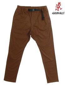 Gramicci グラミチ 8818-FDJ NN PANTS TIGHT FIT ニューナロータイトフィット  Brown ブラウン
