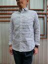 STUDIO ORIBE スタジオオリベ DELICIOUS(デリシャス)【SALE】 DS0133 Pujol(プジョル)コットンリネン素材 ボタンダウンシャツ B…