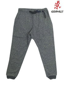 Gramicci (グラミチ)GUP-18F016BONDING KNIT FLEECE NARROW RIB PANTS Grey×Navy 送料無料