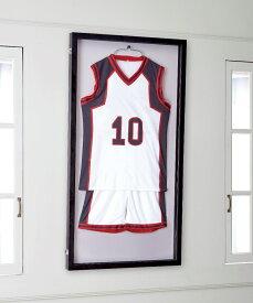 前開き式 ユニフォームケース バスケットボール用 両面通常アクリル仕様 【代引不可】