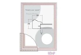 8131 ピンク OA-A3 (420×297mm) OA額縁 ポスター額 ポスターフレーム ピンク ウェルカムボード額縁 格安 ブライダル ウェディングボード 人気フレーム 表面保護/ガラス 激安特価