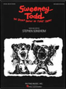 楽譜 ミュージカル「スウィーニー・トッド/フリート街の悪魔の理髪師」 (改定版) 00313444/ヴォーカル&ピアノ/輸入楽譜(T)