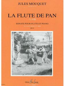 楽譜 ムーケ/フルート・ソナタ Op.15「パンの笛」(GYW00076692/19743/フルート/輸入楽譜(Y))