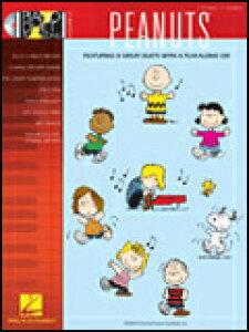 楽譜 ピーナッツ(CD付) 00290568/Piano Duet Play-Along(with CD:奇数track2nd、偶数track1st)(1台4手連弾)/輸入楽譜(T)