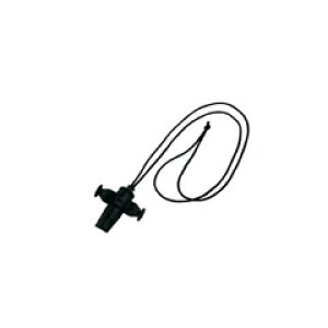PICKBOY サンバホイッスル ブラック SW-60 BL ORIGNAL SAMBA WHISTLE(紐の色は選べません)