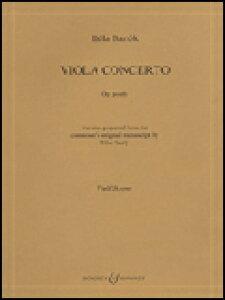 楽譜 バルトーク/ビオラ協奏曲(遺作)(セルリー編)(48008750/M060011412/ビオラ/輸入楽譜(T))