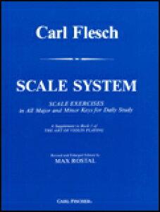 楽譜 カール・フレッシュ/音階教本 O5188/ヴァイオリン教本/輸入楽譜(T)