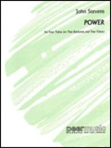 楽譜 スティーヴンス/パワー 00227924/チューバ4重奏(編成:4Tuba 又は 2Euph/2Tuba)/T:2:00/輸入楽譜(T)