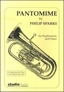 楽譜 スパーク/パントマイム(M-050-00619-0/ユーフォニウム・ソロ&ピアノ/輸入楽譜(T))